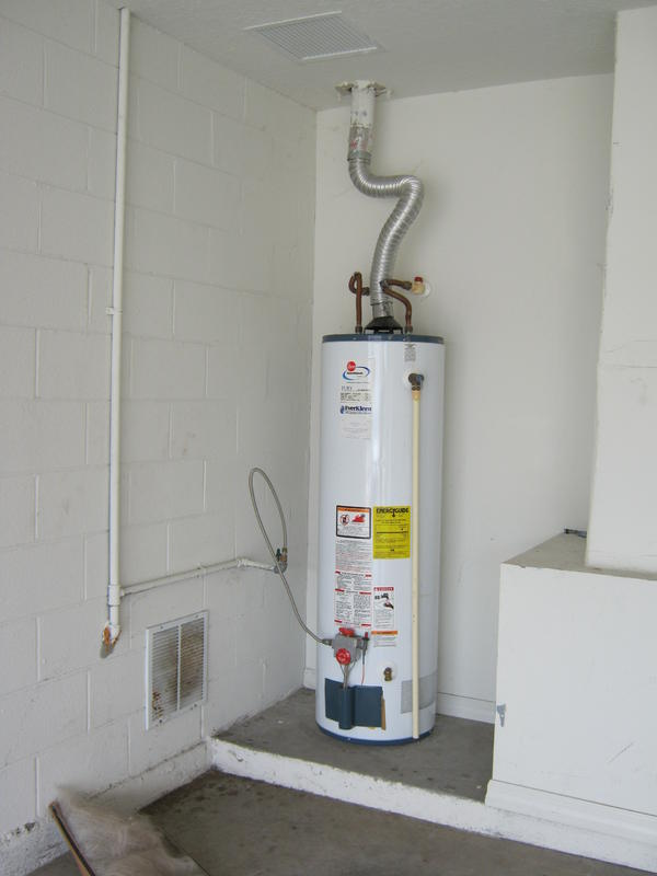 Simple Plastic Hot Water Heater Placement House Plans