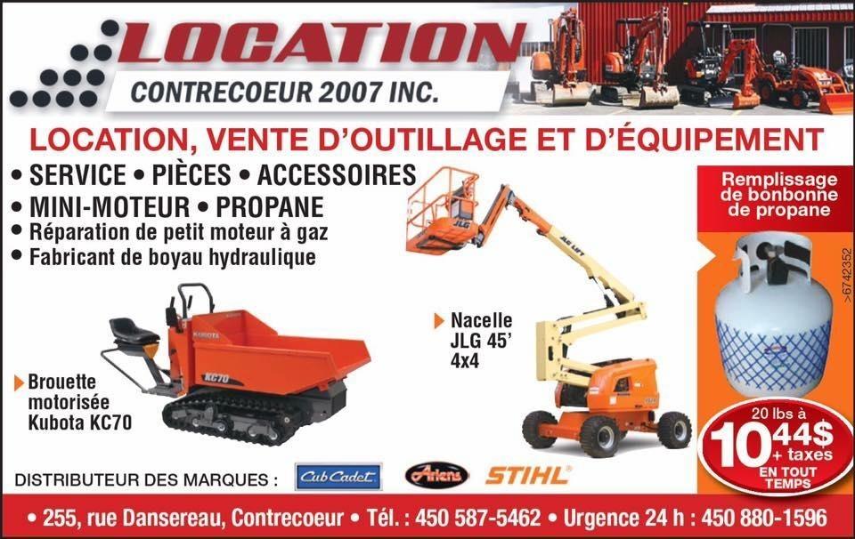 Location Contrecoeur 2007 Inc in Contrecoeur