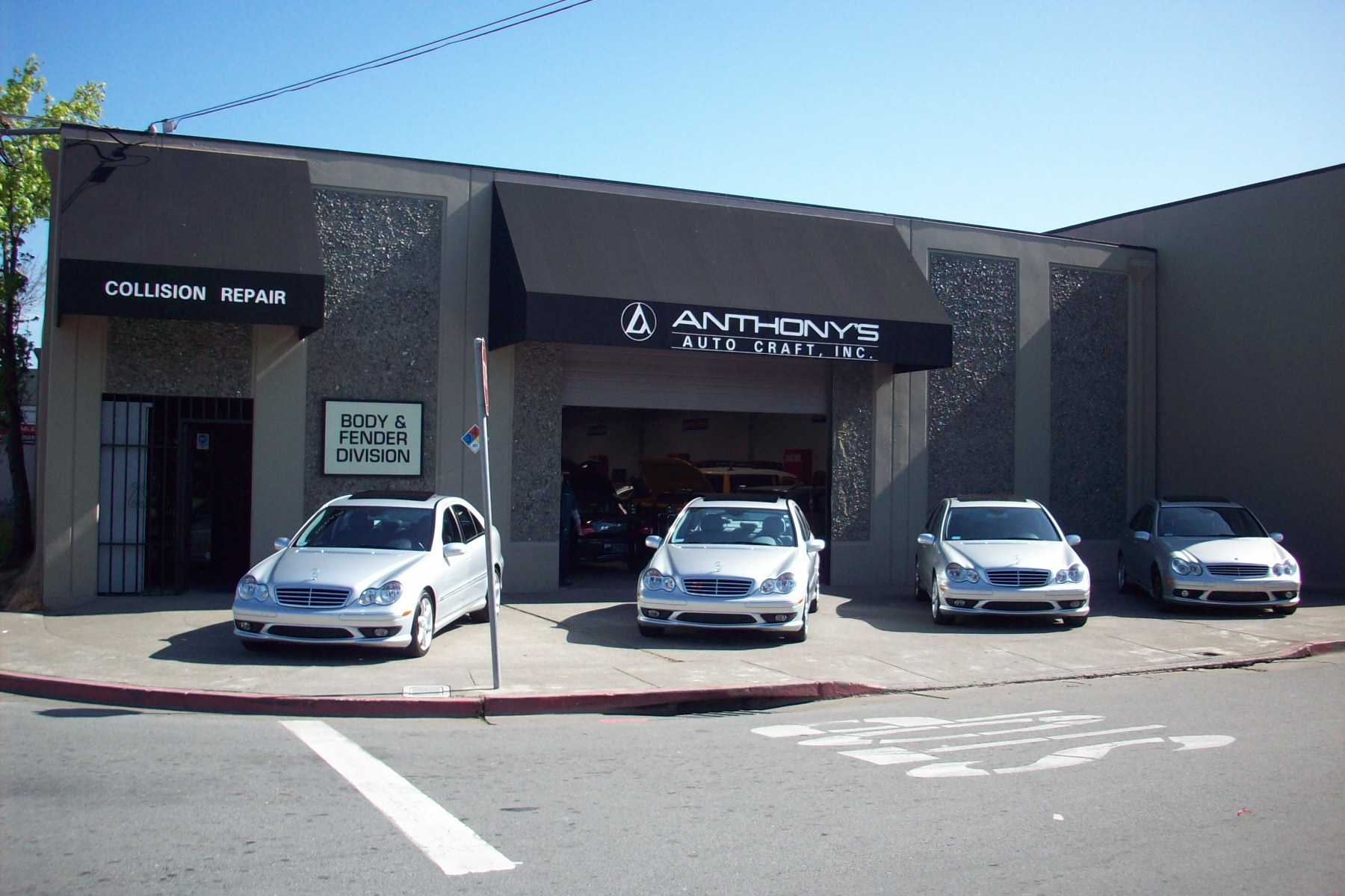 anthony 39 s auto craft in san rafael ca 94901