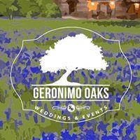 Geronimo Oaks Weddings & Events