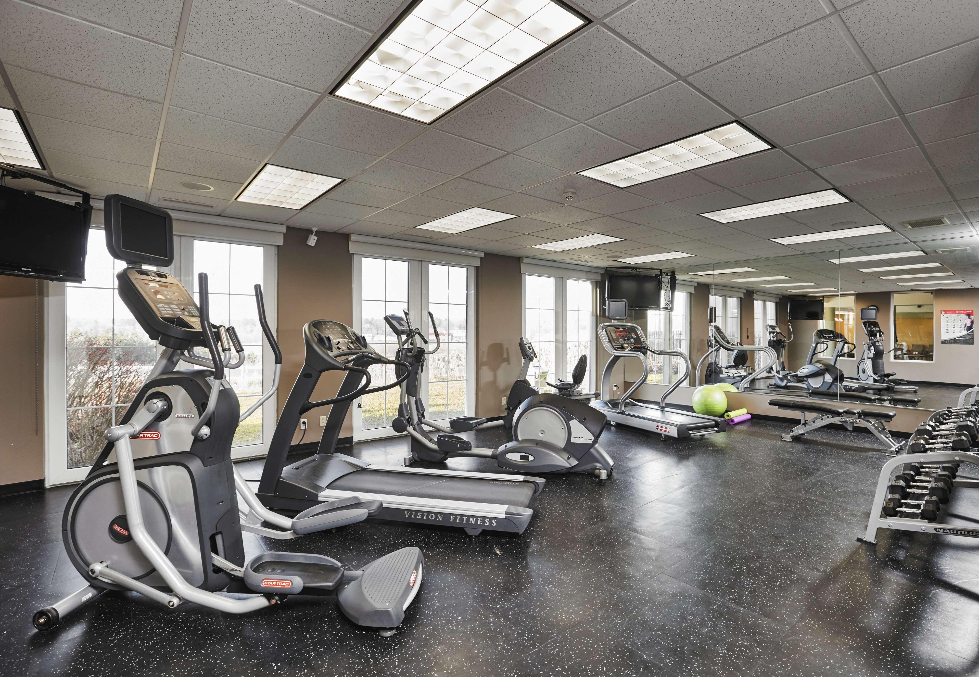 Fitness Center Best Western Plus Orangeville Inn & Suites Orangeville (519)941-3311