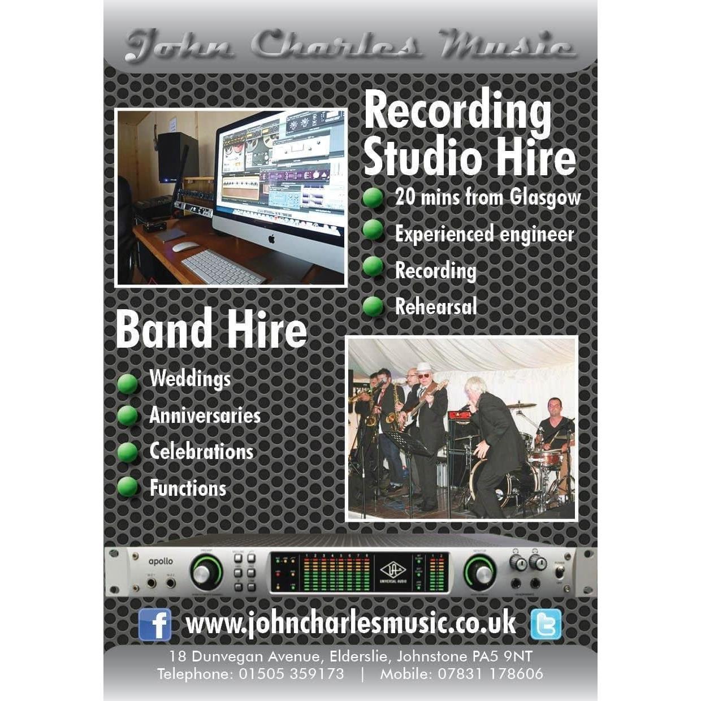 John Charles Music - Johnstone, Renfrewshire PA5 9NT - 07831 178606 | ShowMeLocal.com