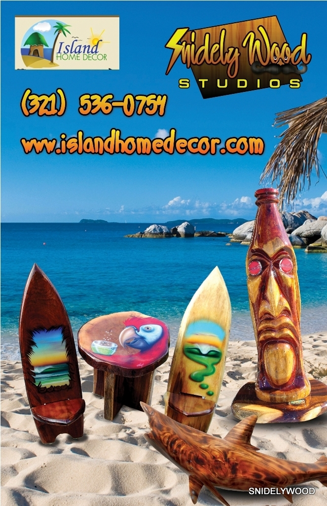 Island Home Decor, Snidely Wood Studio and ART GALLERY