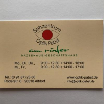 Bild zu Optik Pabst in Altdorf bei Nürnberg