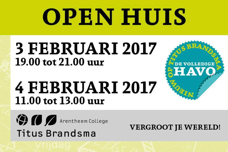 Arentheem College Titus Brandsma