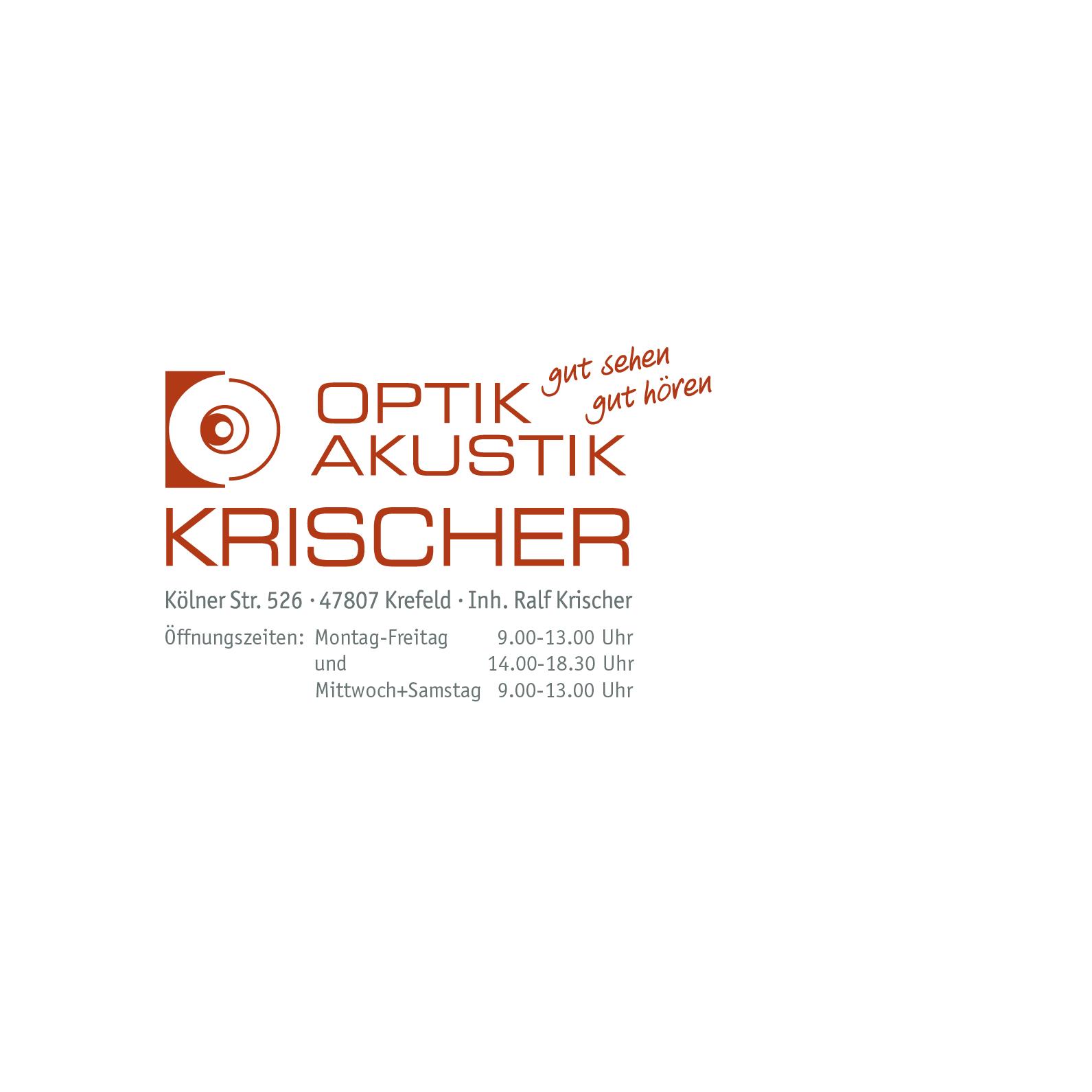 Bild zu Krischer Optik Akustik in Krefeld
