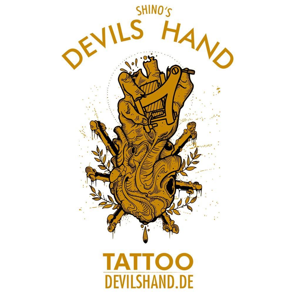 Logo Devil Hands Tattoo Braunschweig