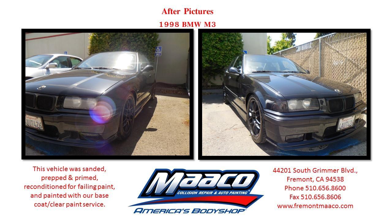 Maaco collision repair auto painting fremont california for Fremont motors service department