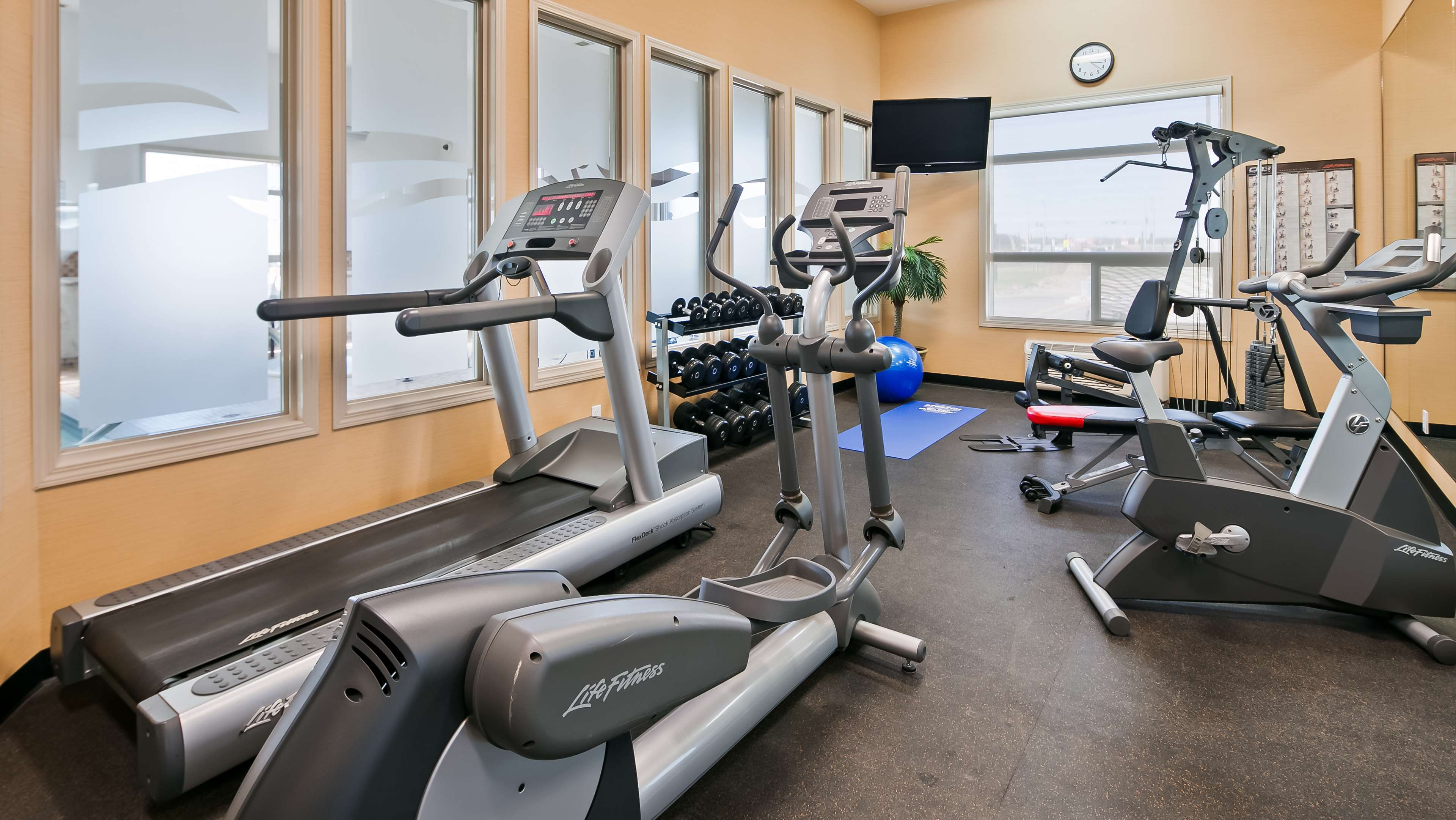 Fit a workout into your busy day dur Best Western Wainwright Inn & Suites Wainwright (780)845-9934