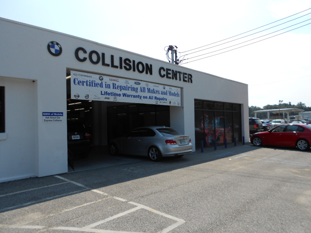 Bmw Of Mobile Collision Center Mobile Alabama Al
