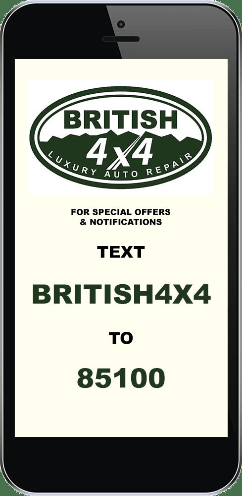 British 4x4 Luxury Auto Repair Mission Viejo California