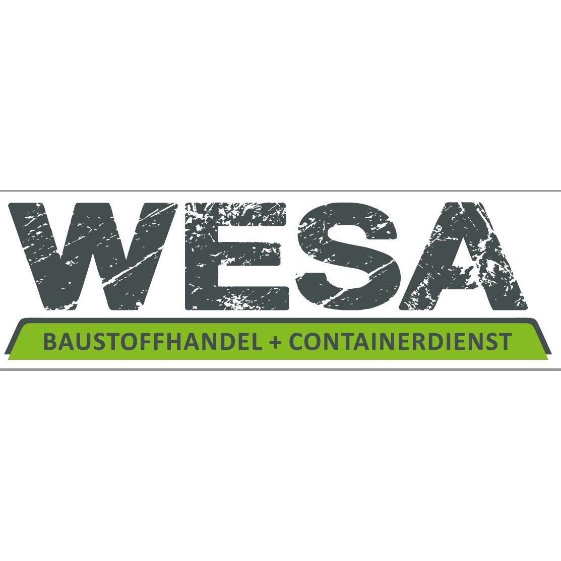 WESA Baustoffhandel + Containerdienst
