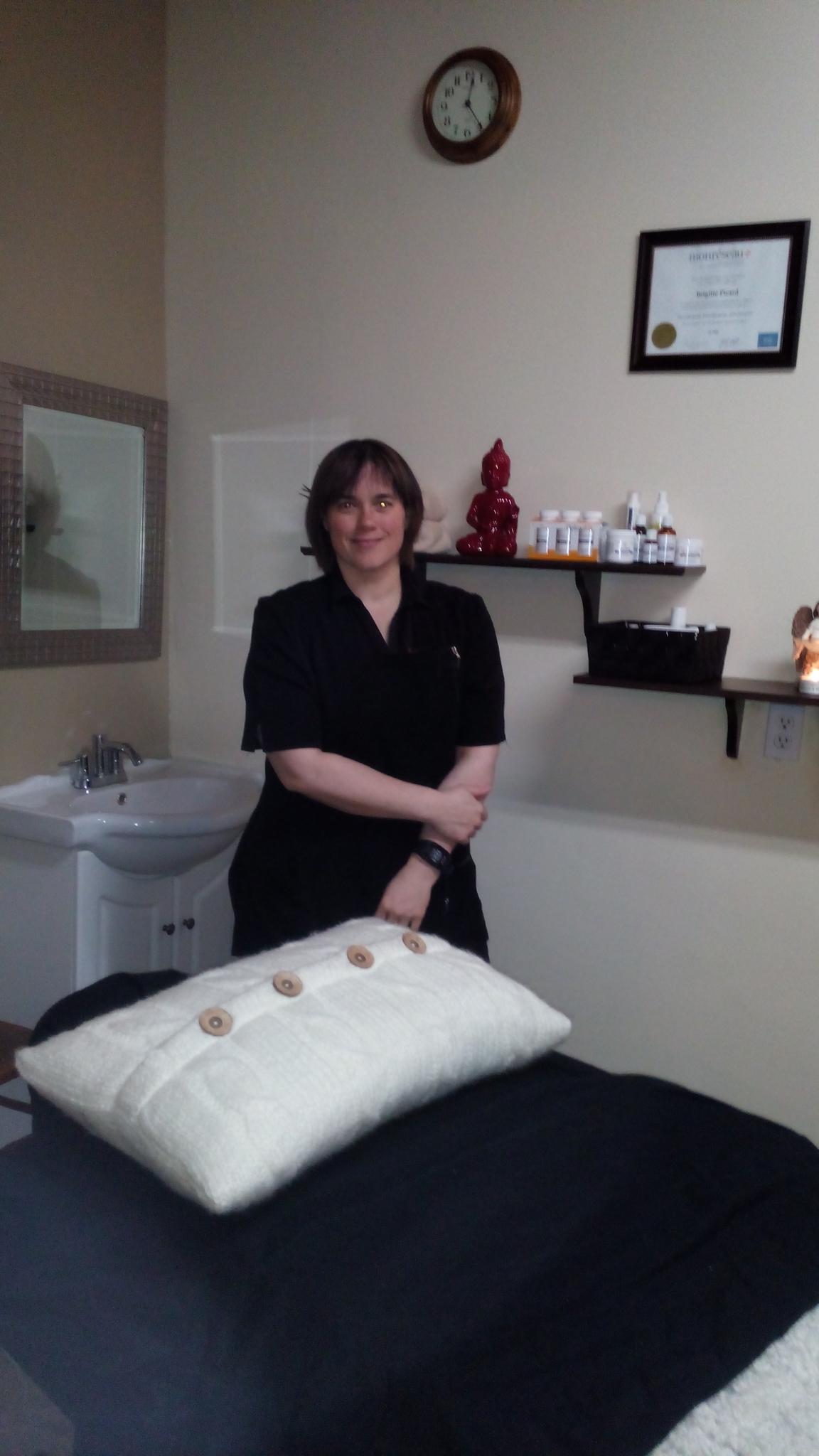 Brigitte Picard Massothérapeute &Orthothérapeute