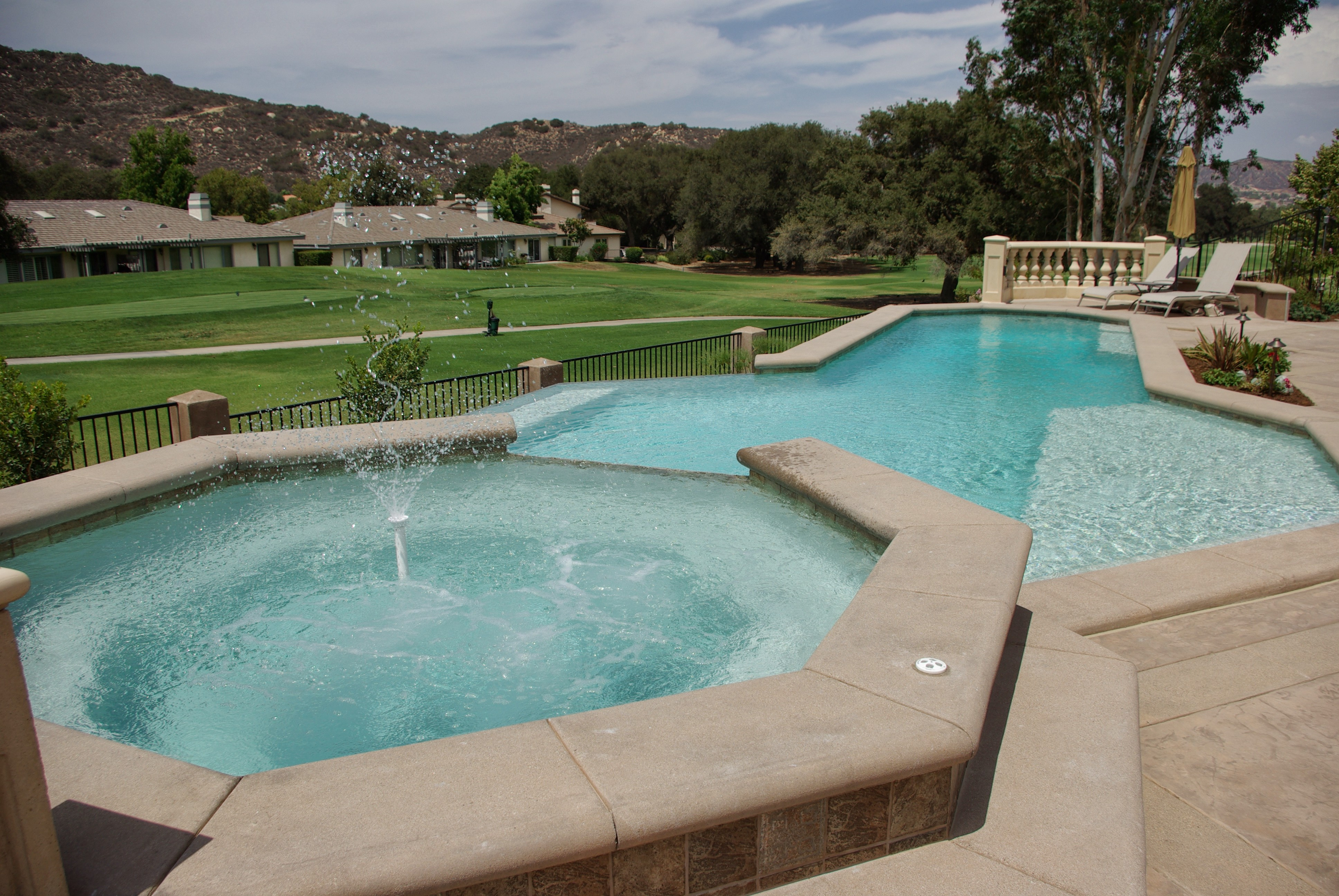 Infinium pools and construction temecula california ca for Local pool contractors