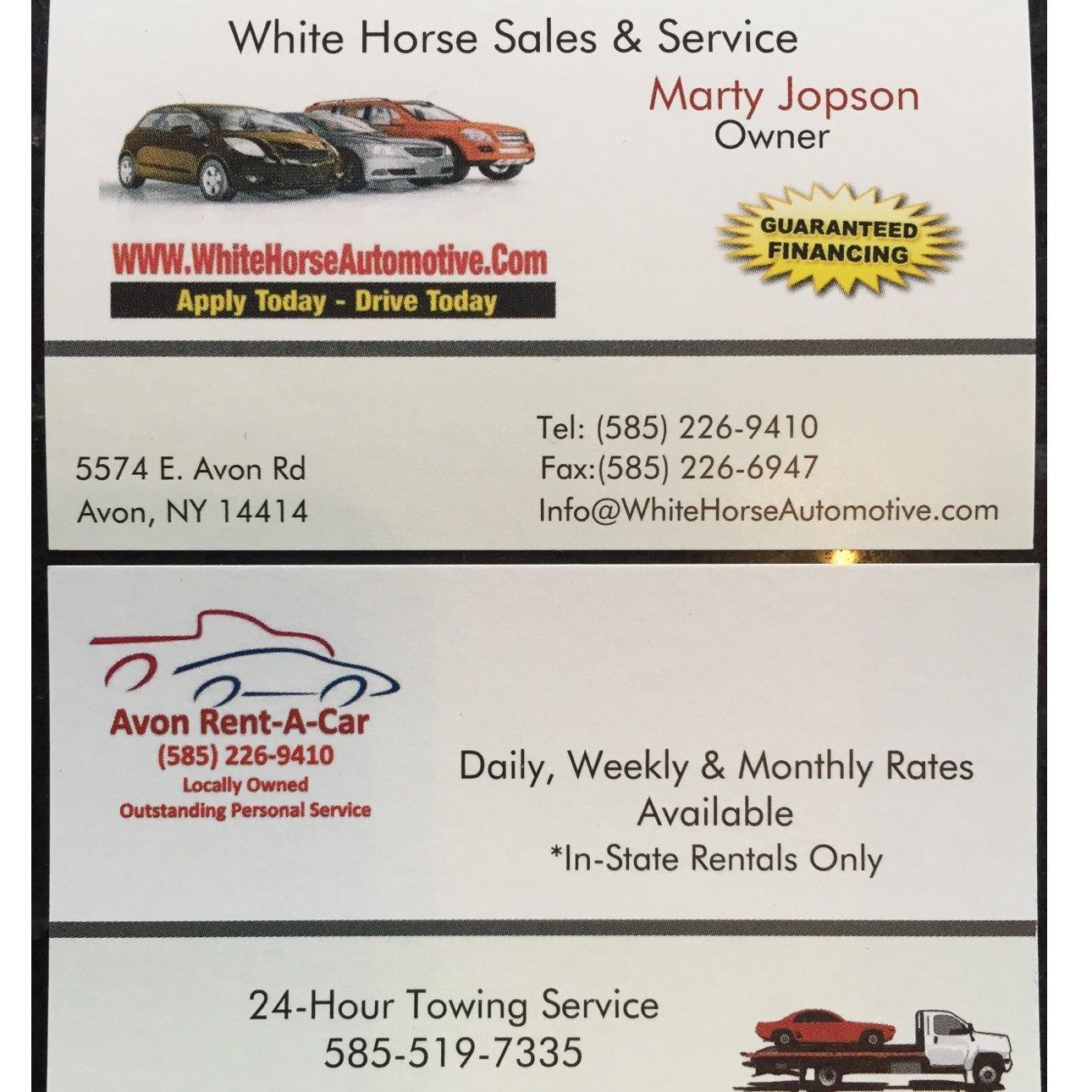 WhiteHorse Auto Sales & Service Inc
