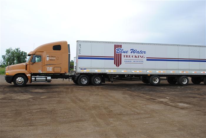 Blue Water Trucking In Romeo Mi 48065
