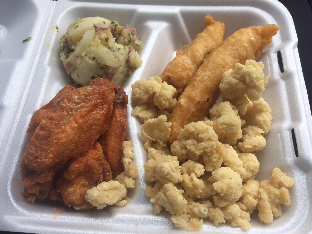 Captain crab 39 s take away coupons near me in miami gardens for Hooks fish and chicken near me