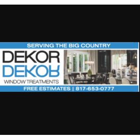 Dekor Window Treatments - Abilene, TX - Windows & Door Contractors