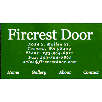 Fircrest Pre-Fit Door Co.