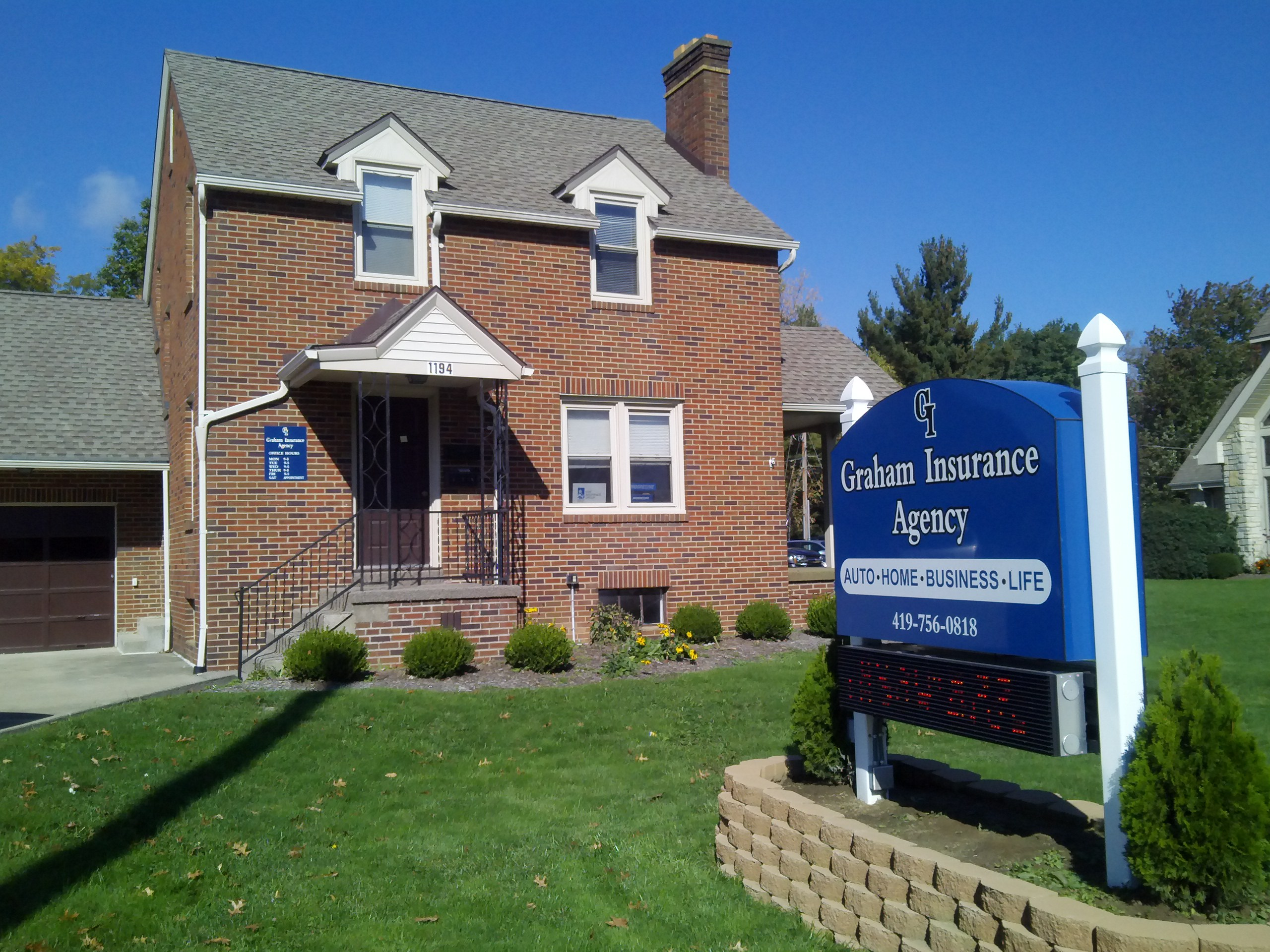 The Graham Insurance Agency in Mansfield OH Auto