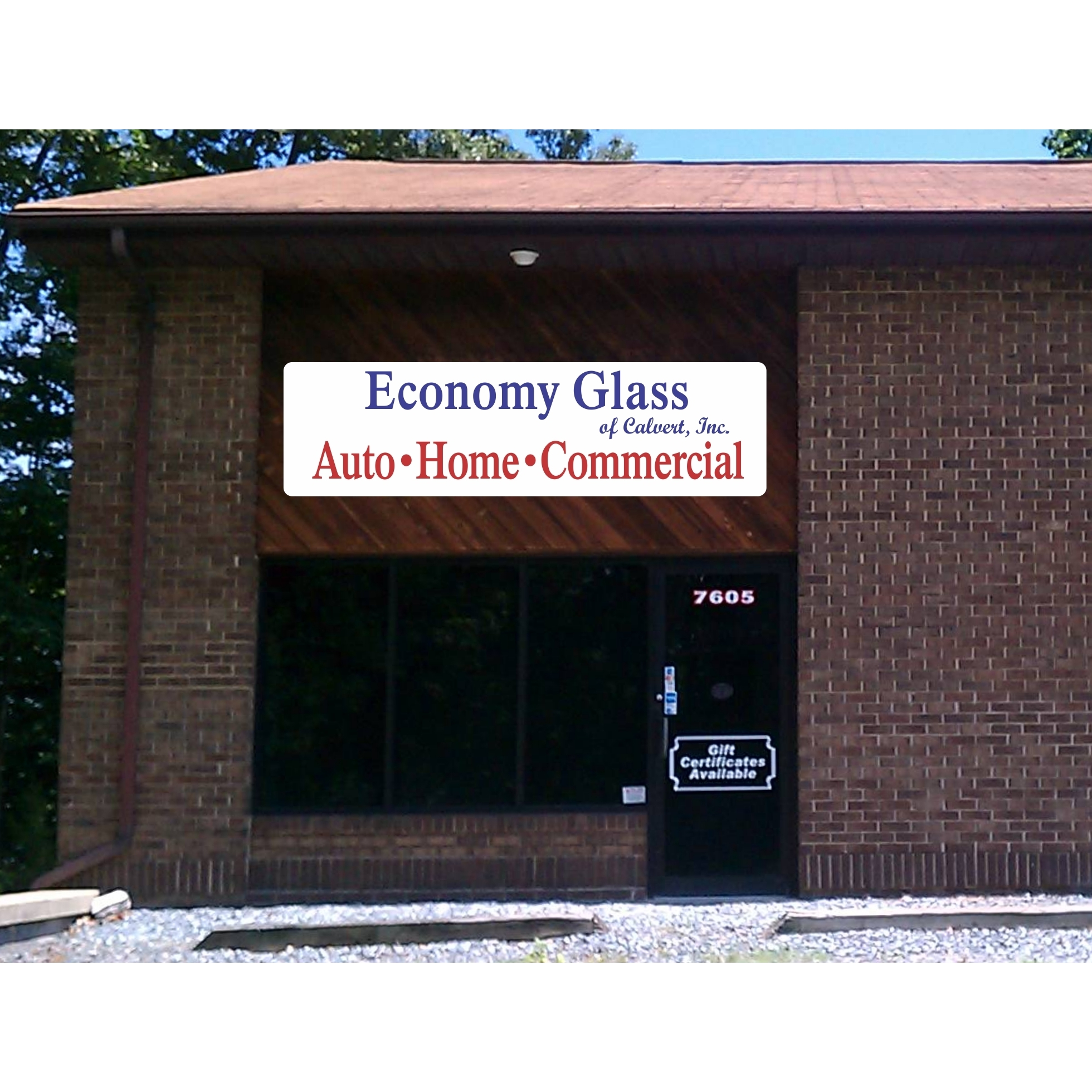 Auto Glass Shop in MD Owings 20736 Economy Glass of Calvert, Inc. 7605 Ginger Lane  (301)855-9054