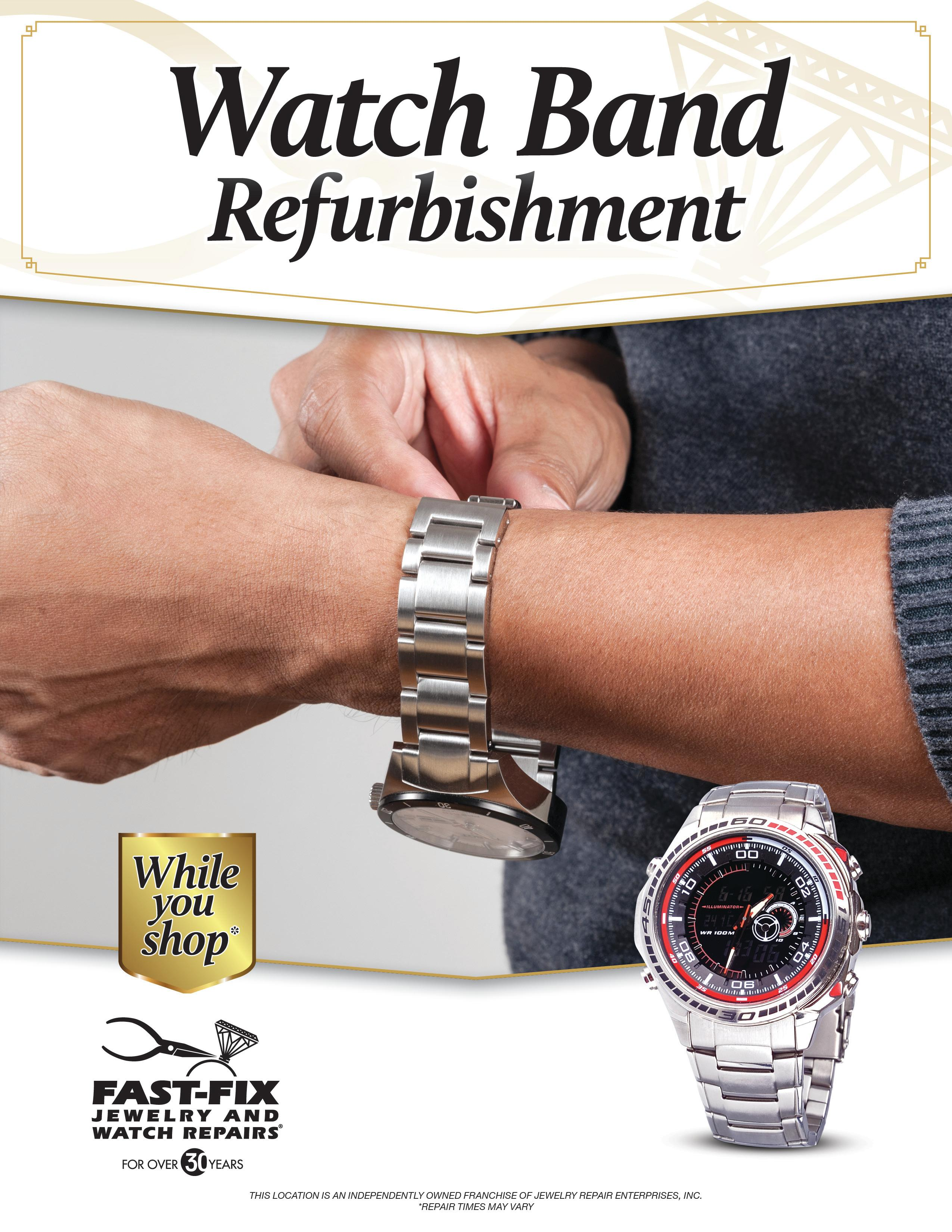 Fast fix jewelry watch repairs irvine in irvine ca for Fast fix jewelry repair