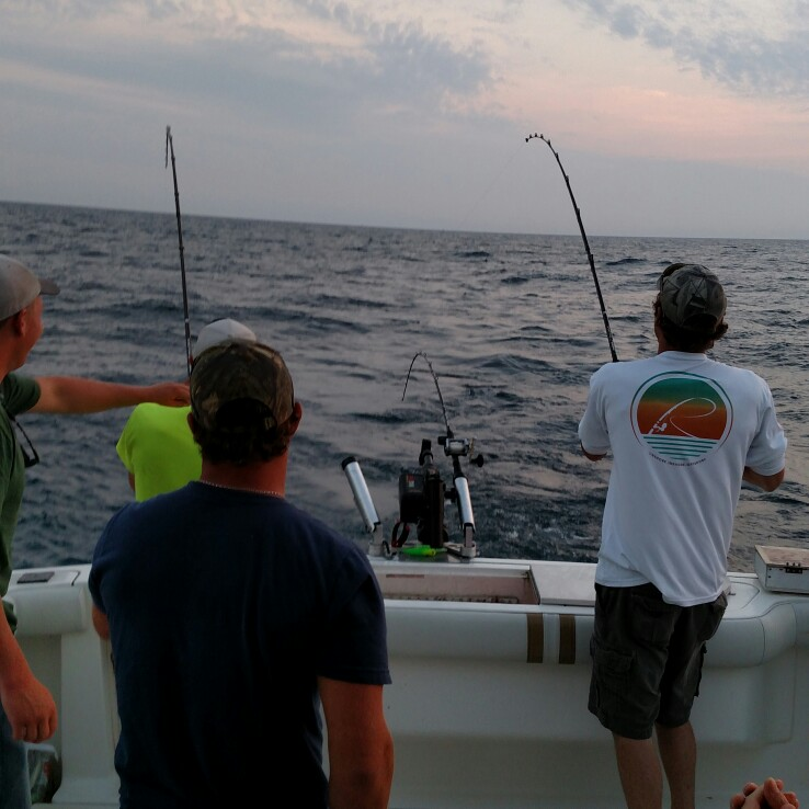 Class act charters manistee michigan mi for Charter fishing manistee mi