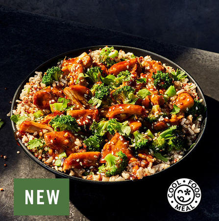 NEW! Teriyaki Chicken & Broccoli Bowl