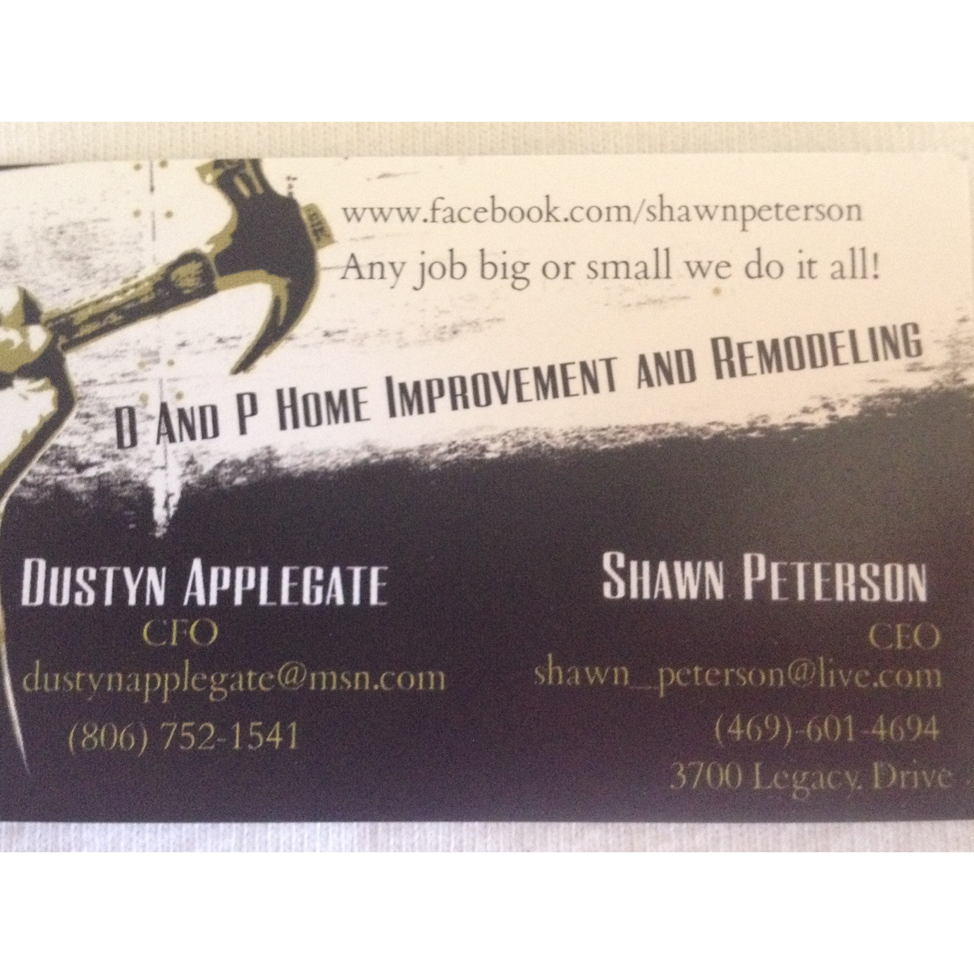 D & P Home Improvement and Remodeling