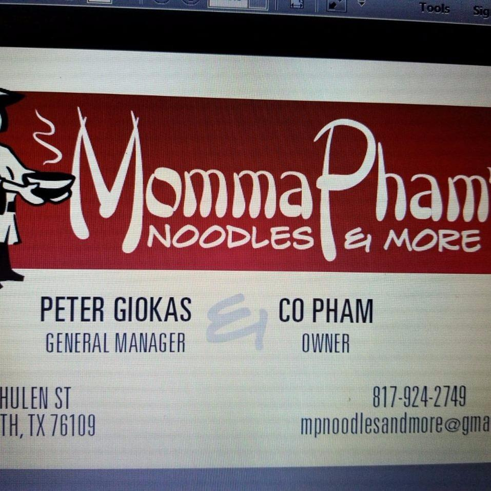 Momma Phams Noodle's & More