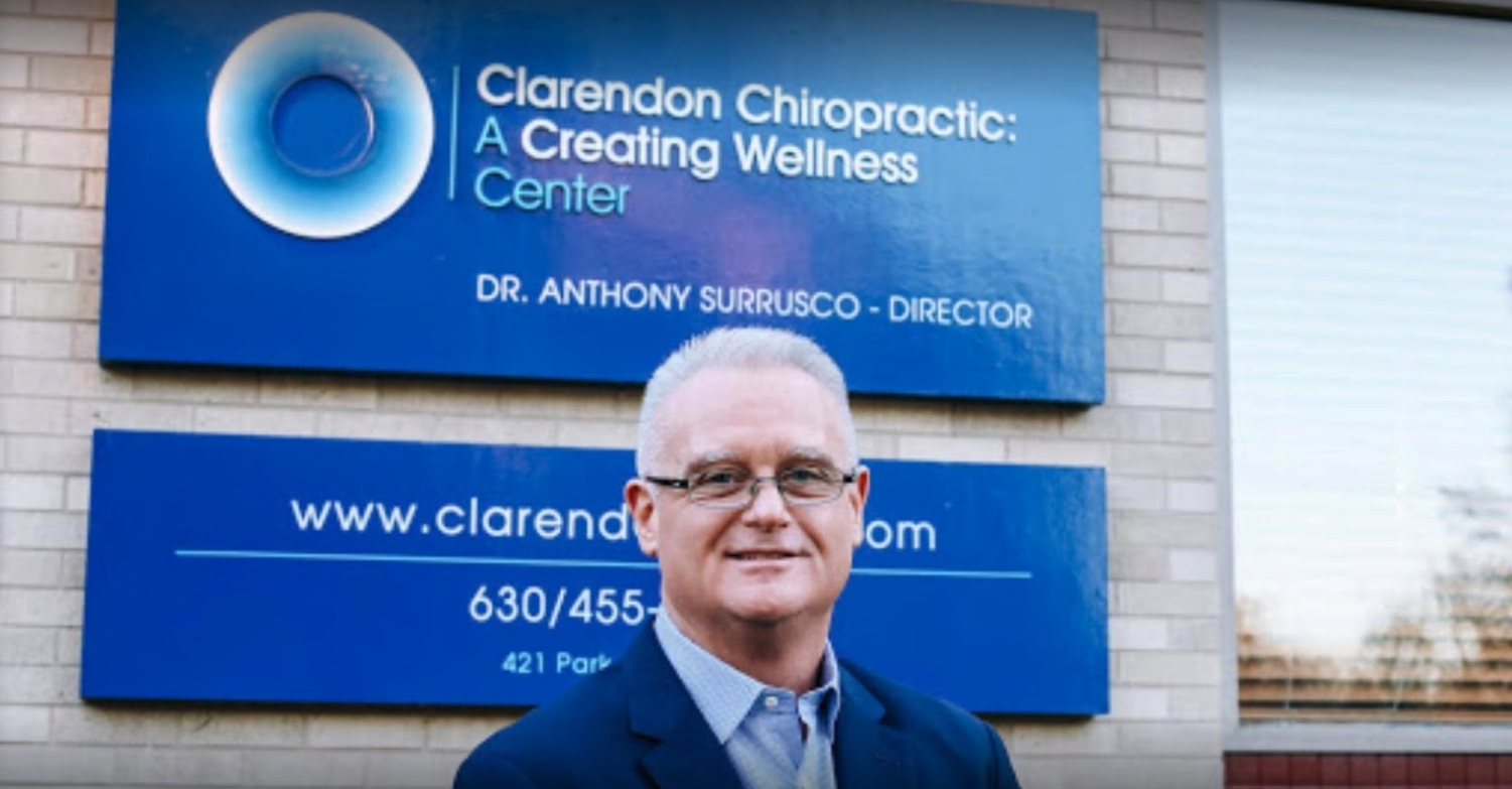 Clarendon Chiropractic, Experts in lifestyle based chiropractic in Clarendon Hills, IL - Dr. Surrusco
