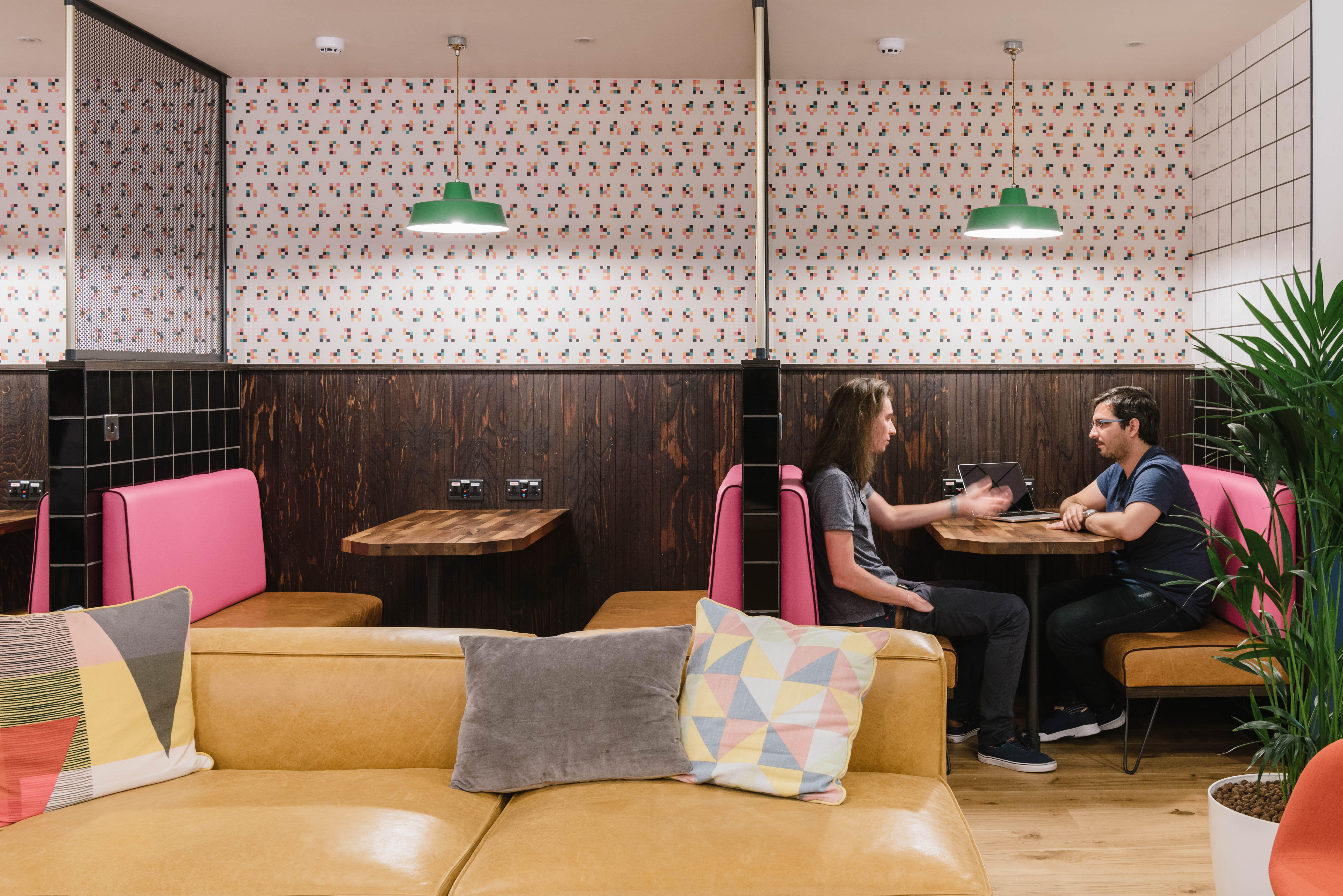 Meeting Booth WeWork 33 Queen St London 020 3695 7895