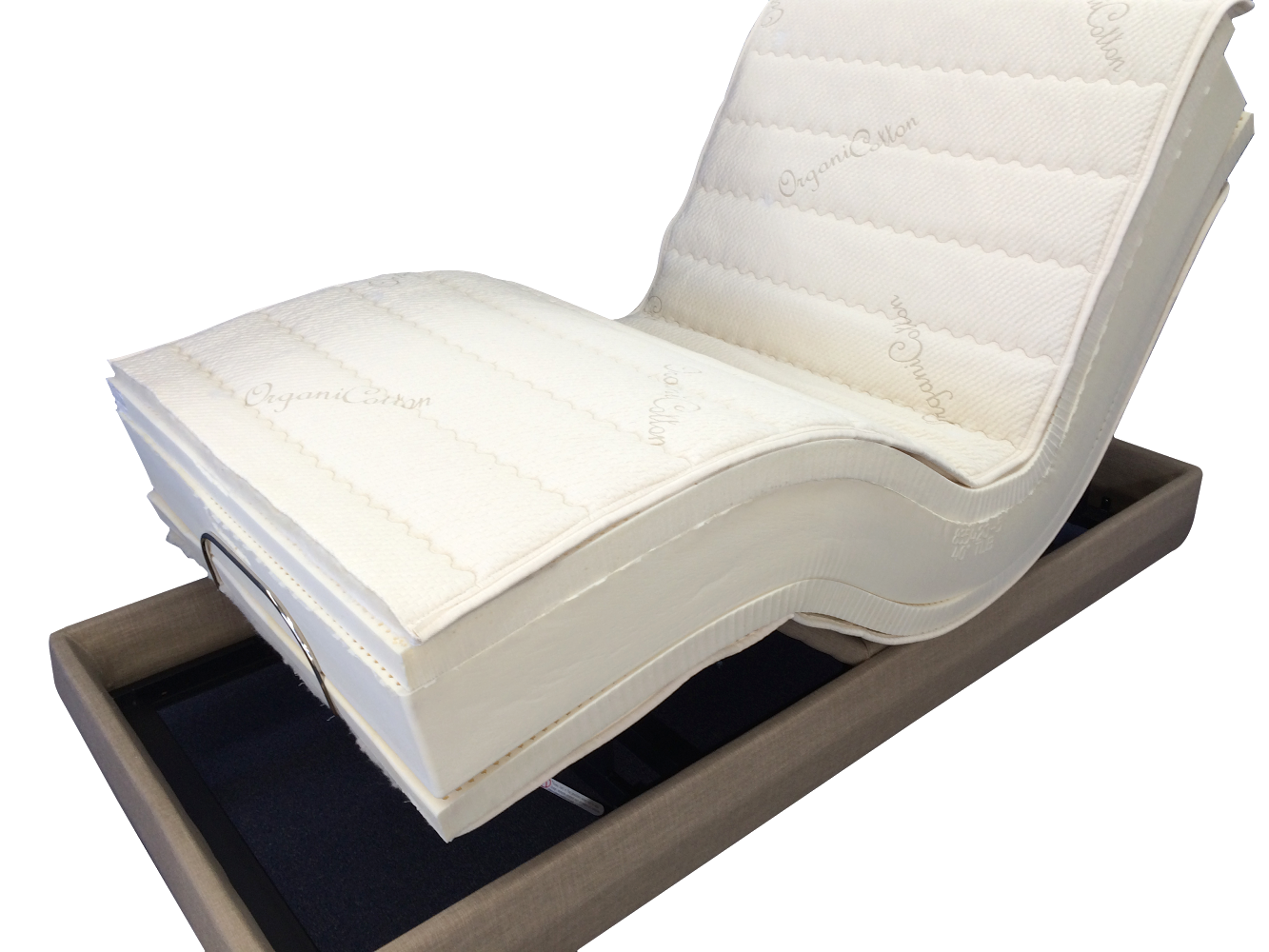 """THE 11"""" ULTIMATE LATEX MATTRESS ADJUSTABLE BED"""