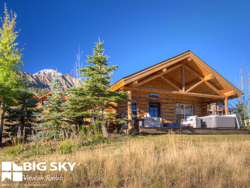 Big sky vacation rentals in big sky mt 59716 for Big sky cabin rentals