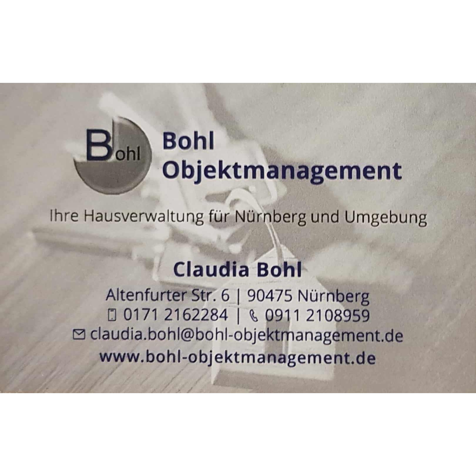 Claudia Bohl Objektmanagement