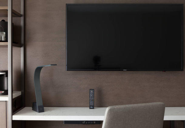 Rooms offer internet-ready TVs, allowing you to stream your favorite content while in Orlando.