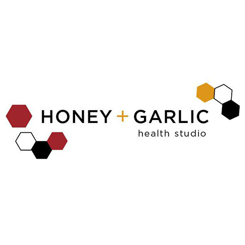 Honey + Garlic Health Studio logo