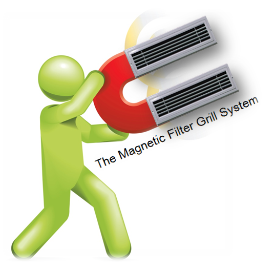 Magnetic Air Filter Grille (Prime Products)