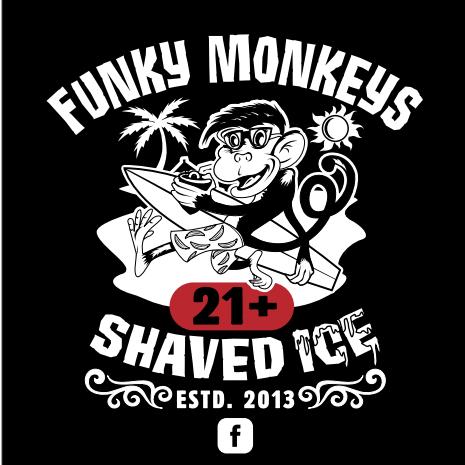 Funky Monkeys Shaved Ice 21+