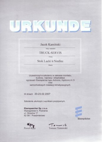 TRUCK SERVIS Adam Kamiński