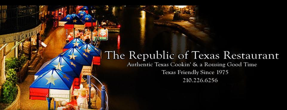 Republic of Texas Restaurant on the Riverwalk