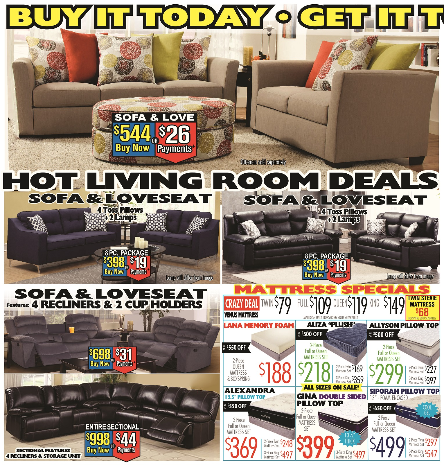 price busters discount furniture - furniture store