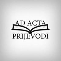 AD ACTA PRIJEVODI d.o.o.
