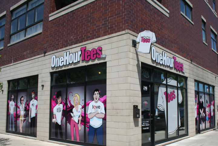 Onehourtees coupons near me in chicago 8coupons for Custom shirt stores near me