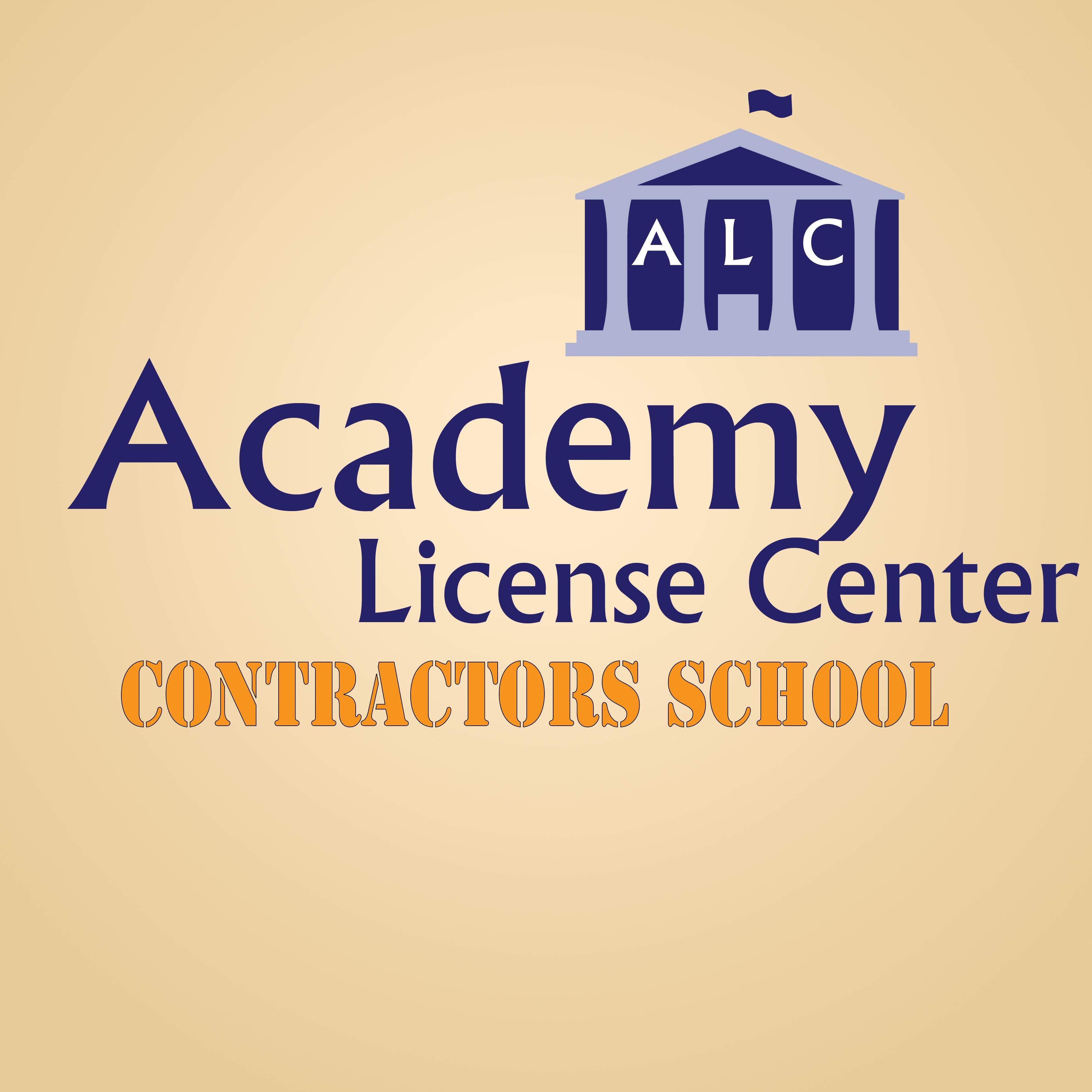 Academy License Center Contractors School
