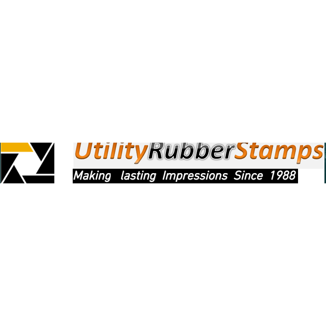 Utility Rubber Stamps