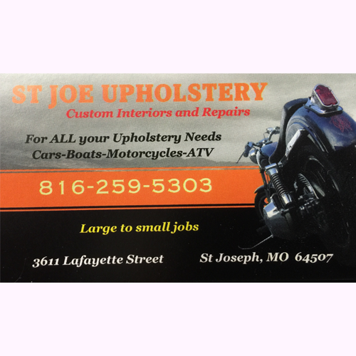 St. Joe Upholstery