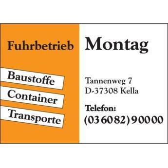 Fuhrbetrieb & Containerdienst Montag
