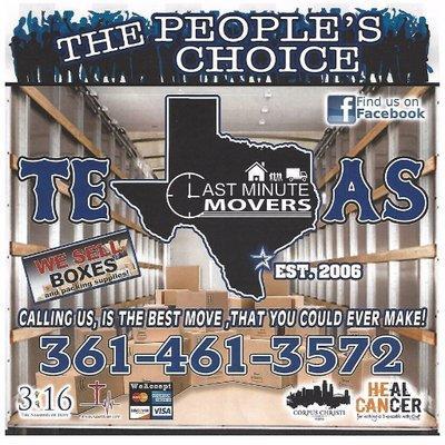 LAST MINUTE MOVERS - CORPUS CHRISTI, TX - Movers