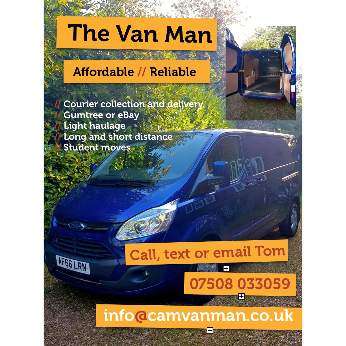 The Van Man - Cambridge, Cambridgeshire CB25 9LA - 07508 033059 | ShowMeLocal.com